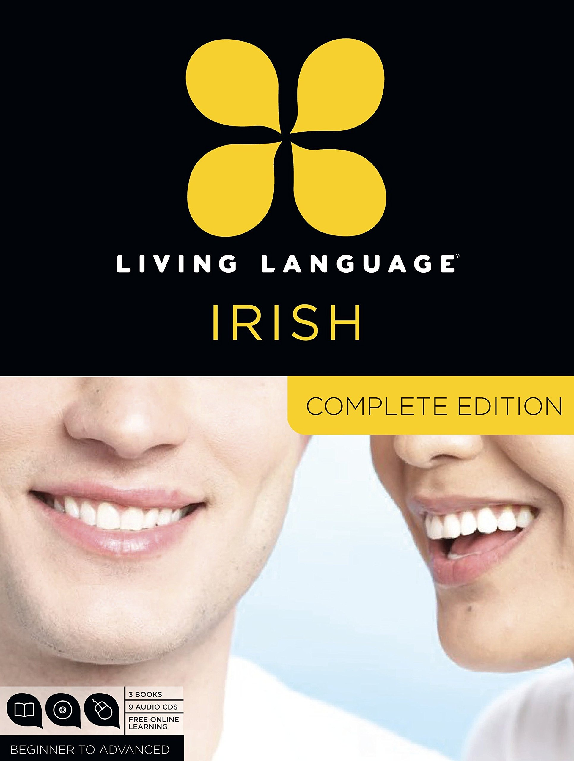 Living Language Irish, Complete Edition: Beginner through advanced course, including 3 coursebooks, 9 audio CDs, and free online learning by Living Language