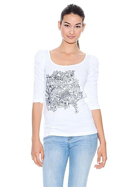 Kukuxumusu Camiseta Selva Blanco L