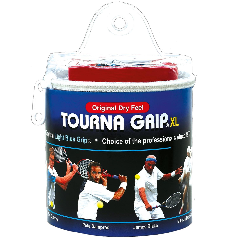 Unique Overgrip Tourna Grip Tour 30er - Mango de raqueta de tenis, color azul, talla standard TOUR-30XL