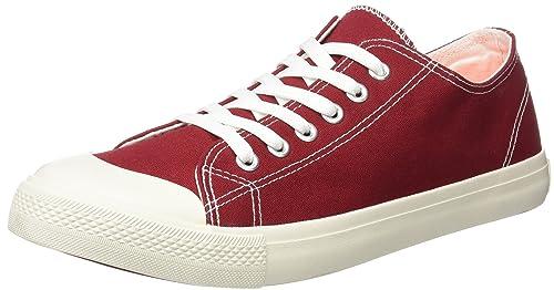 Springfield Sneaker Basica, Zapatillas para Hombre, Rojo (Red), 43 EU: Amazon.es: Zapatos y complementos