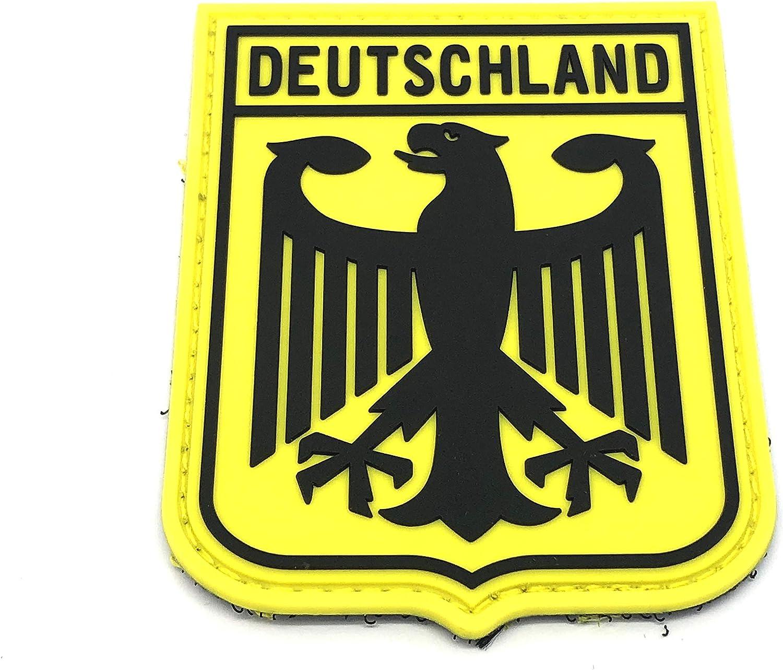 Deutschland Royal Escudo de Armas Imperial Eagle Amarillo Bandera ...