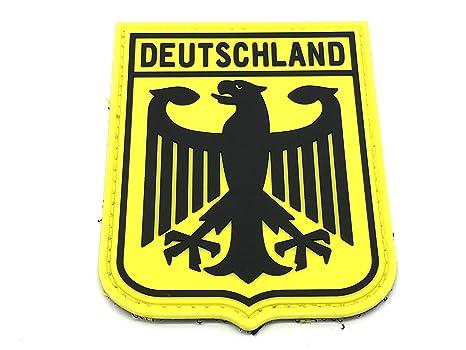the latest 5b0a1 bbf5e Deutschland Aigle Impérial Allemagne Blason Drapeau Jaune ...