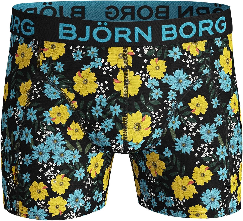 Bjorn Borg Mens Boxer Shorts 2 Pair ~ Blossom