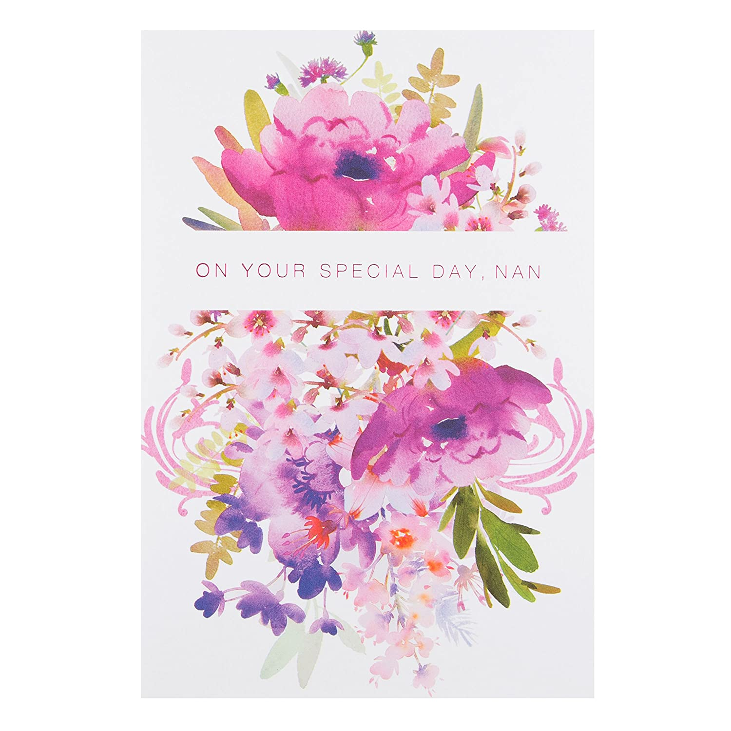Hallmark 25472422 Nan Birthday Card With Love