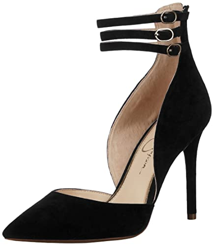 Jessica Simpson Women's Linnee Pump, Black, 5.5 Medium US