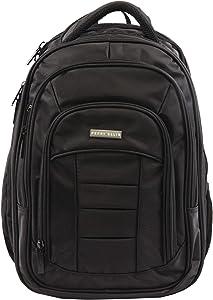Perry Ellis Men's M150 Business Laptop Backpack, Black, One Size