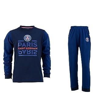 Paris Saint Germain PSG - Pijama oficial para niño., Niño, azul, 8