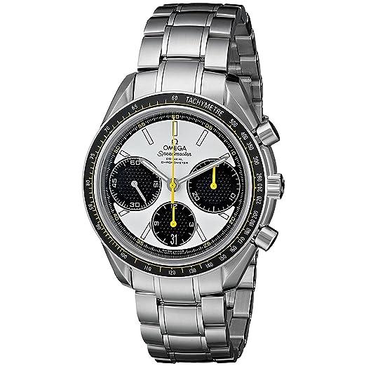 OMEGA Speedmaster Reloj de hombre automático 38mm 326.30.40.50.04.001: Amazon.es: Relojes