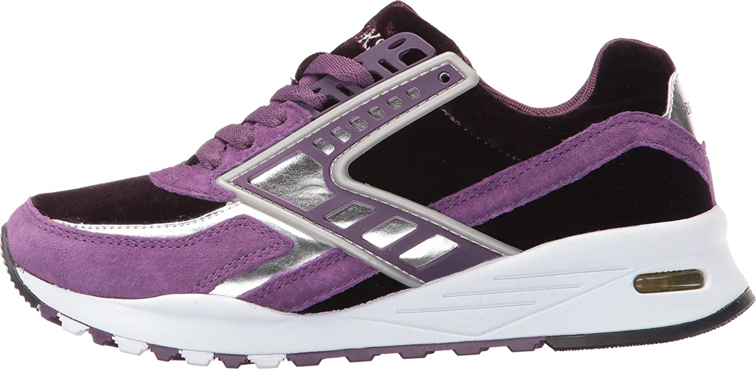 Brooks Heritage Women's US|Deep Regent B01AX2M29Q 6.5 B(M) US|Deep Women's Purple/Silver Chrome cb5193