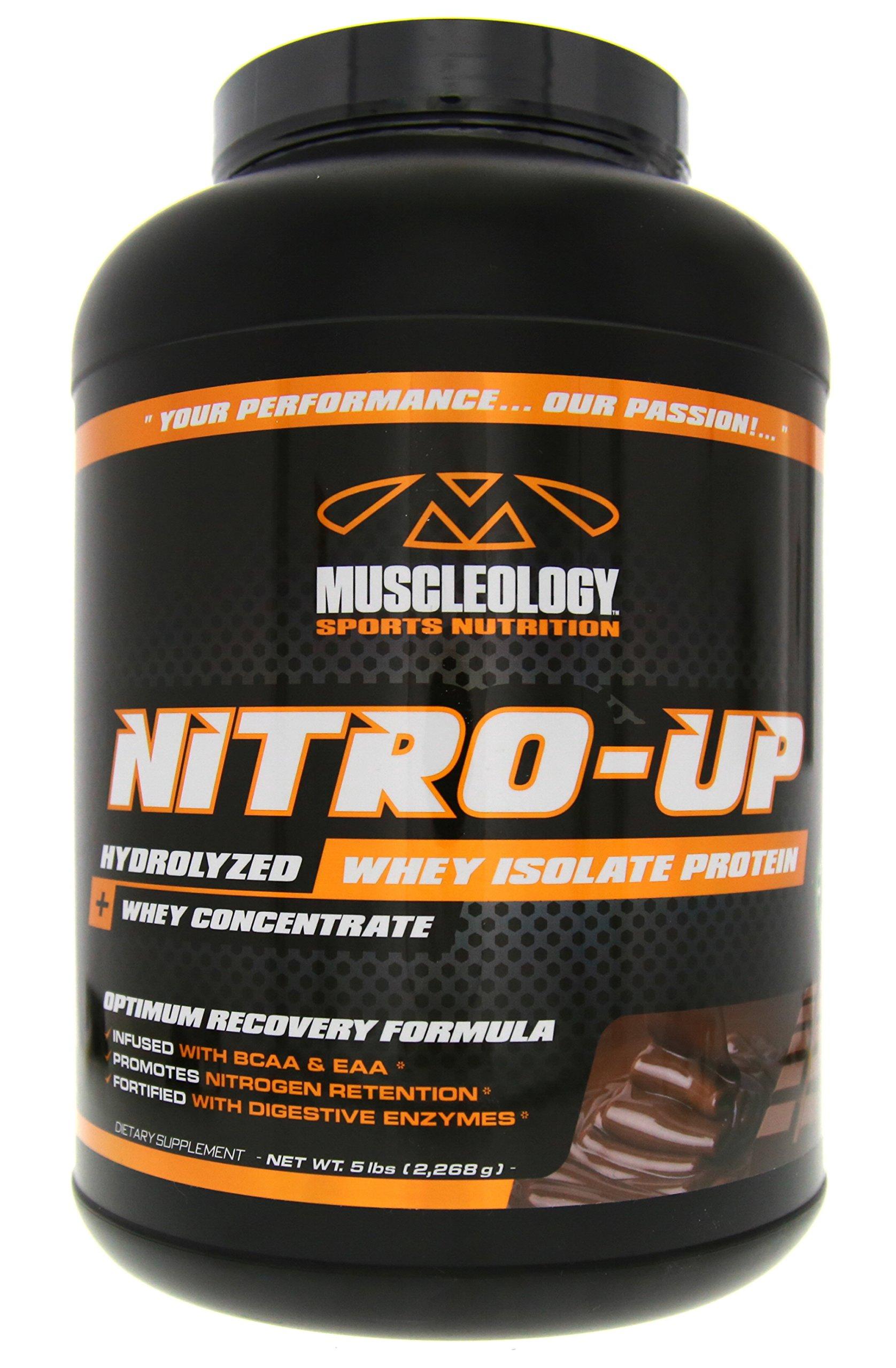 Muscleology Nitro-Up Chocolate Supplement, 5 Pound