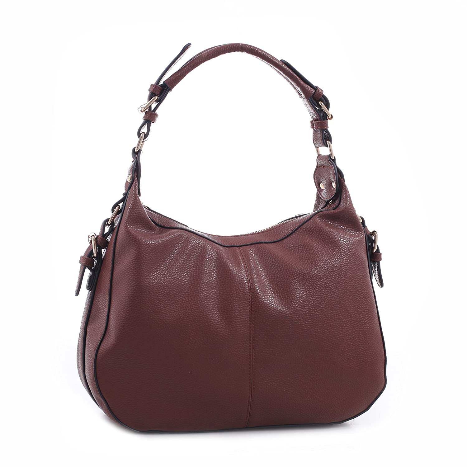79ae399ccf4 Amazon.com: Concealed Carry Purse - Chloe Buckle Hobo by Emperia Outfitters  (Brown): Shoes