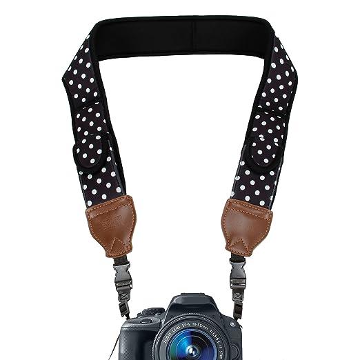 2 opinioni per USA Gear Tracolla Fotocamera Digitale in Neoprene con Tasche Porta Accessori