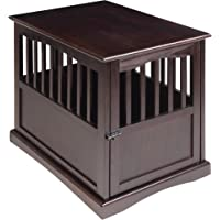 Newport Pet Crate End Table (Espresso or Black)