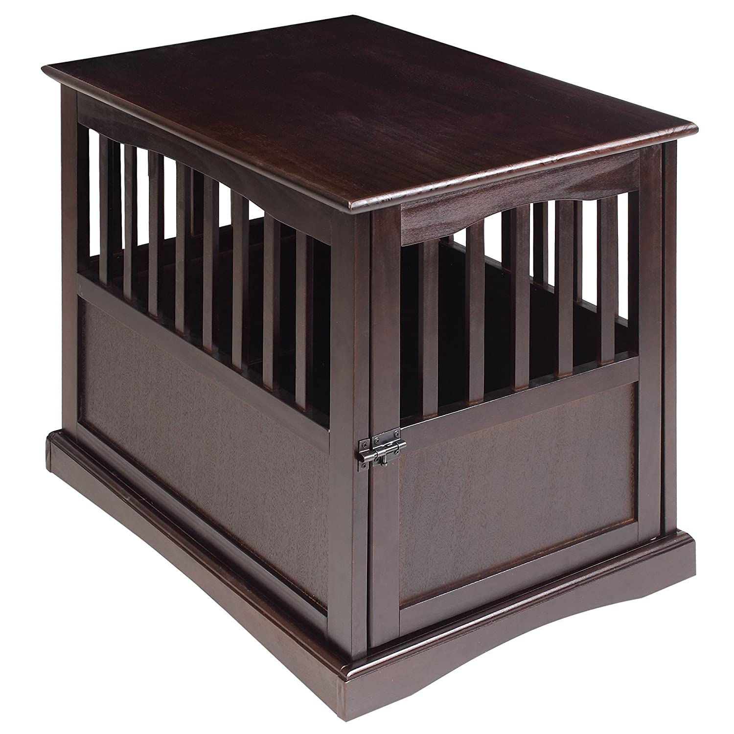Amazon Casual Home Pet Crate Espresso Inch