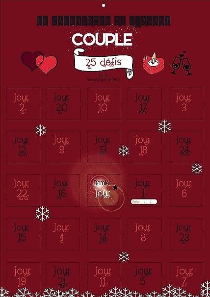 Calendario De Adviento Especial Para Pareja Con 25 Retos