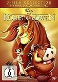 Der König der Löwen - Teil 1, 2 & 3 [3 DVDs]