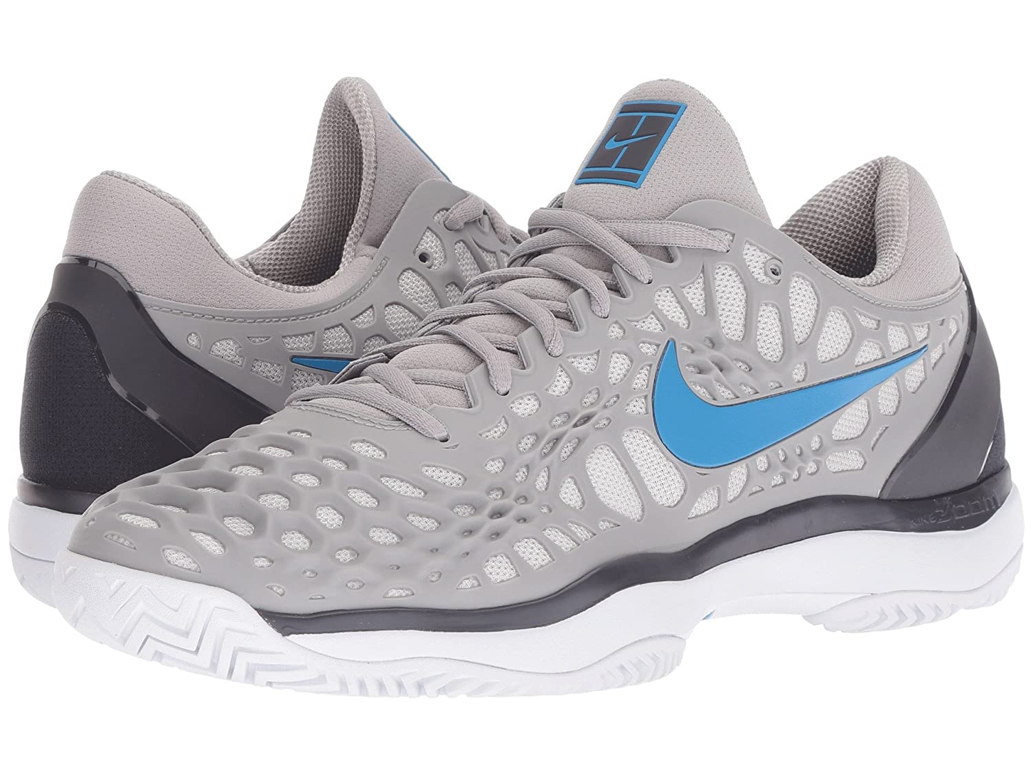 Nike 9 Mens Zoom Cage 3 Tennis Shoes B0789RKMJ4 9 Nike D(M) US|Atmosphere Grey/Photo Blue-gridiron a0693a