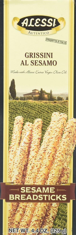 Alessi Sesame Breadsticks - 4.4 oz