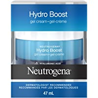 Neutrogena Hydro Boost Gel Face Cream with Hydrating Hyaluronic Acid Serum, Moisturizing Skin Care, 47 mL