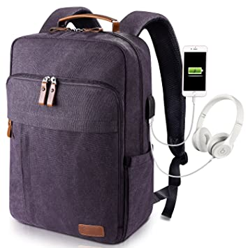 Estarer 17-17.3 Inch Laptop Backpack with USB Charging Port