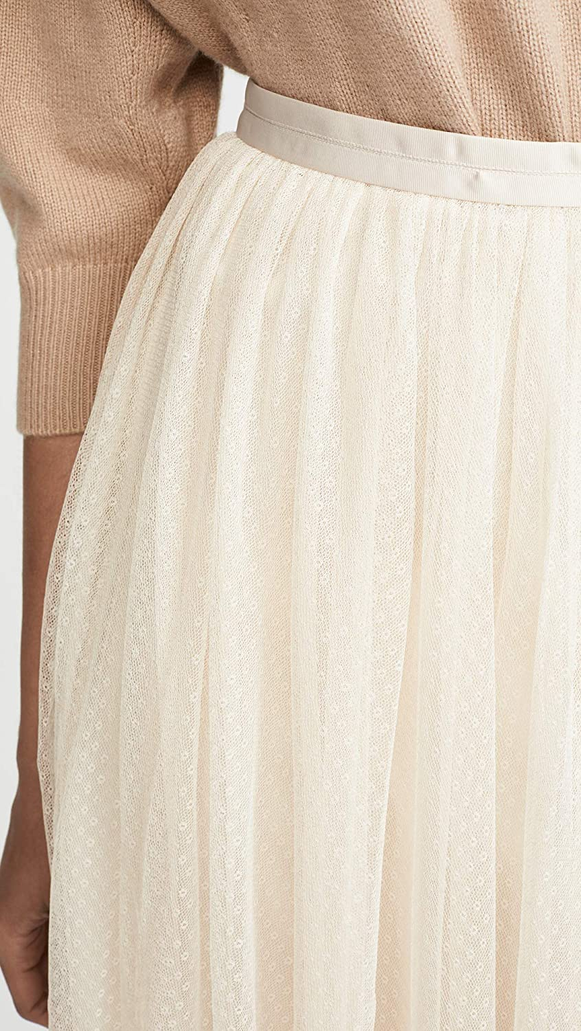 outlet for sale utterly stylish clear-cut texture Needle & Thread Women's Dotted Tulle Midaxi Skirt at Amazon ...
