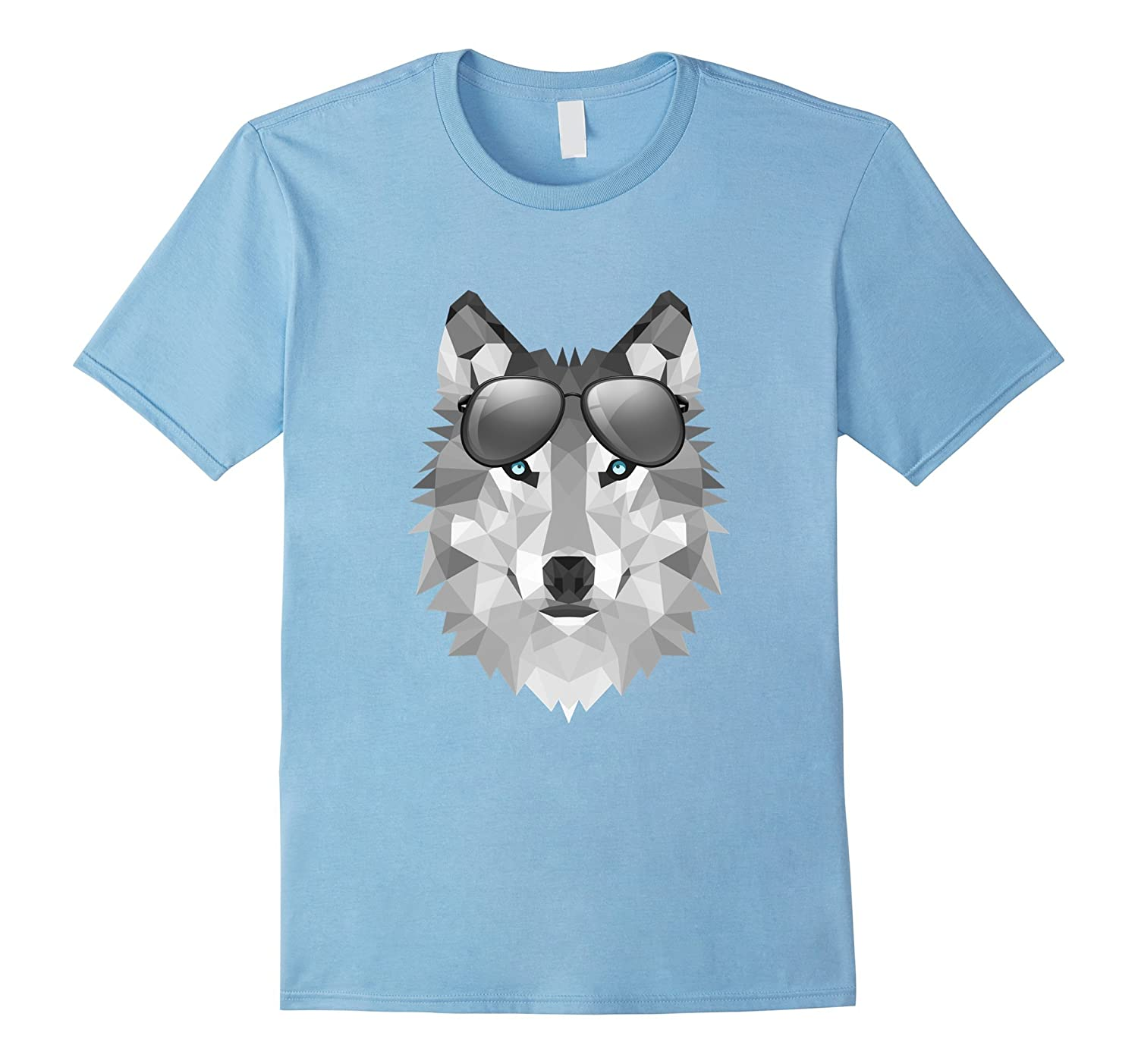 Cool wolf T-Shirt For Men Women and Kids by wolf king-BN