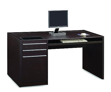 Amazoncom Coaster Home Furnishings Contemporary Computer - Contemporary computer desk