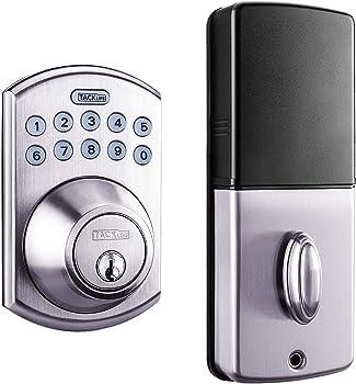 Tacklife Keypad Electronic Deadbolt Door Lock