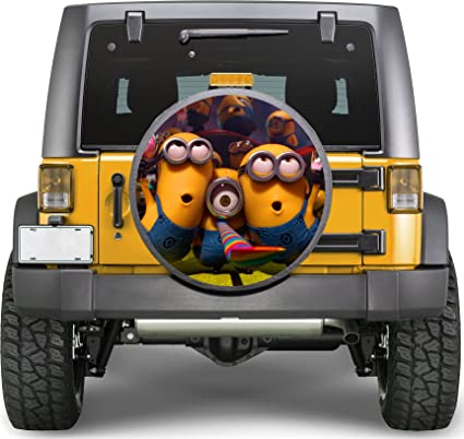 Amazon Com Cartoons Funny Sticker Full Color Spare Tire Cover Decal