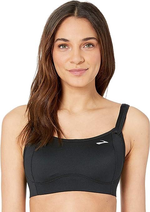 Black 30D Moving Comfort Fiona Medium Impact Adjustable Sports Bra