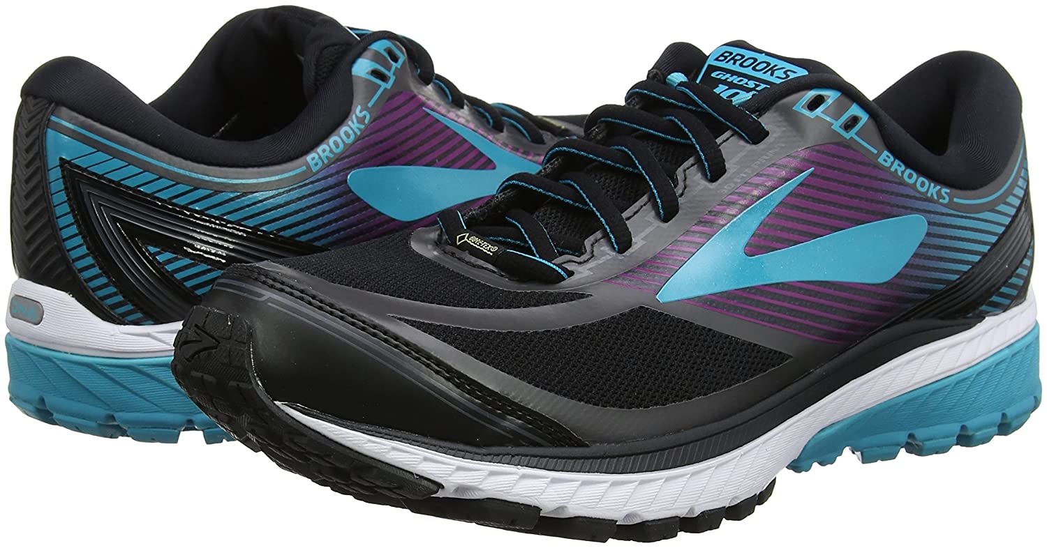 Brooks Womens Ghost 10 GTX Blue/Hollyhock B01N8XI1XZ 9.5 B(M) US|Black/Peacock Blue/Hollyhock GTX 81ca8e