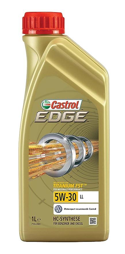Castrol 57418 EDGE Titanium Aceite para Motor FST 5W-30 LL, 1L (Sello