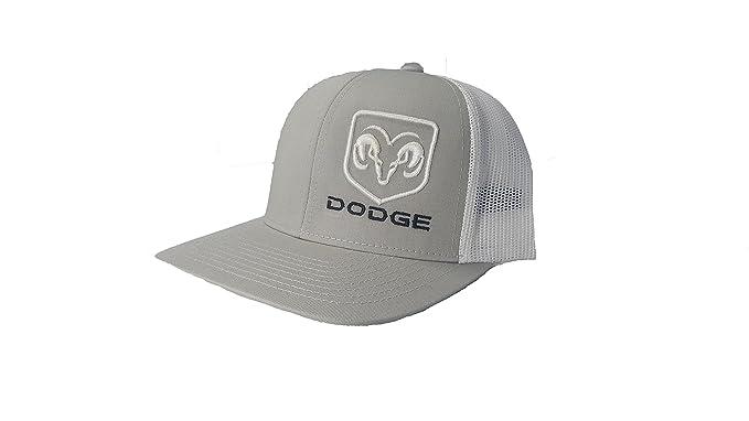 Richardson 3D Puff Dodge Ram Logo Hat Cap Adult Adjustable Snapback ... 7b192134497