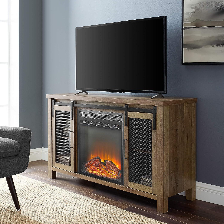 Walker Edison Furniture Company - Soporte de TV para Chimenea ...