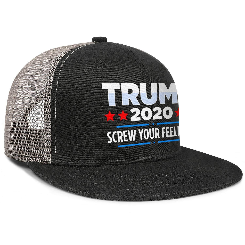 JDHASA Trump-2020-star-red-and-blue Mens Snapback Hat Baseball Caps Isor Hats