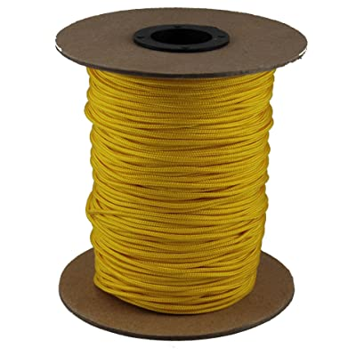 T.W Evans Cordage 70-101Y Crosslace Lacrosse String Spool, 300-Feet, Yellow