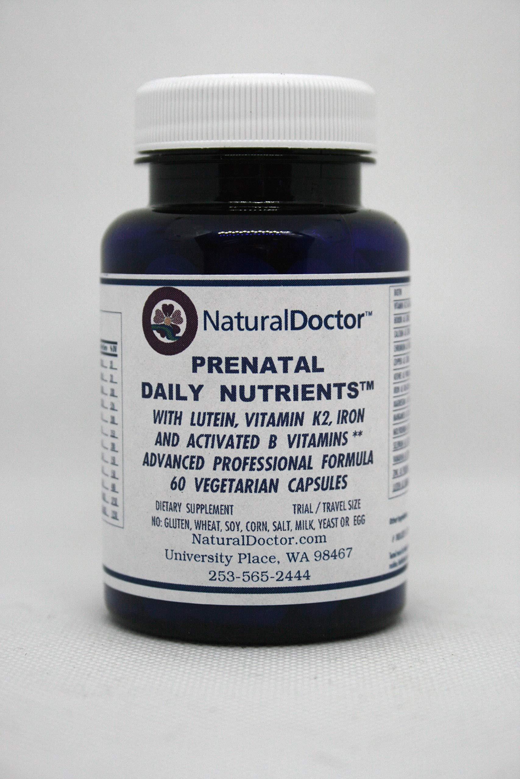 NaturalDoctor Prenatal Daily Nutrients 60 Veg Caps