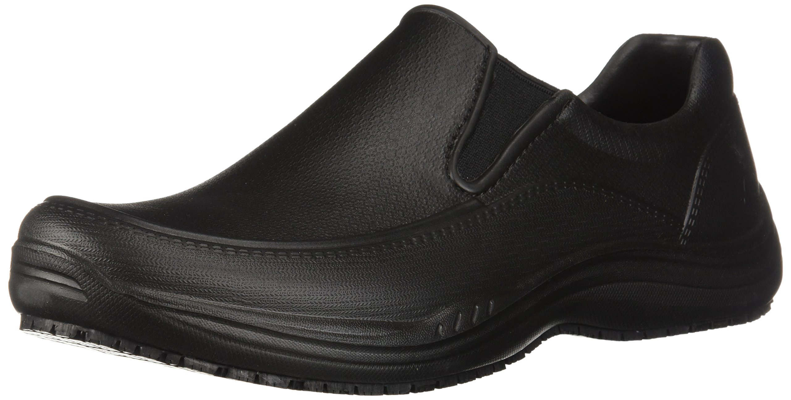 Skechers Men's Brushten Health Care Professional Shoe, Black Molded Eva, 14 M US