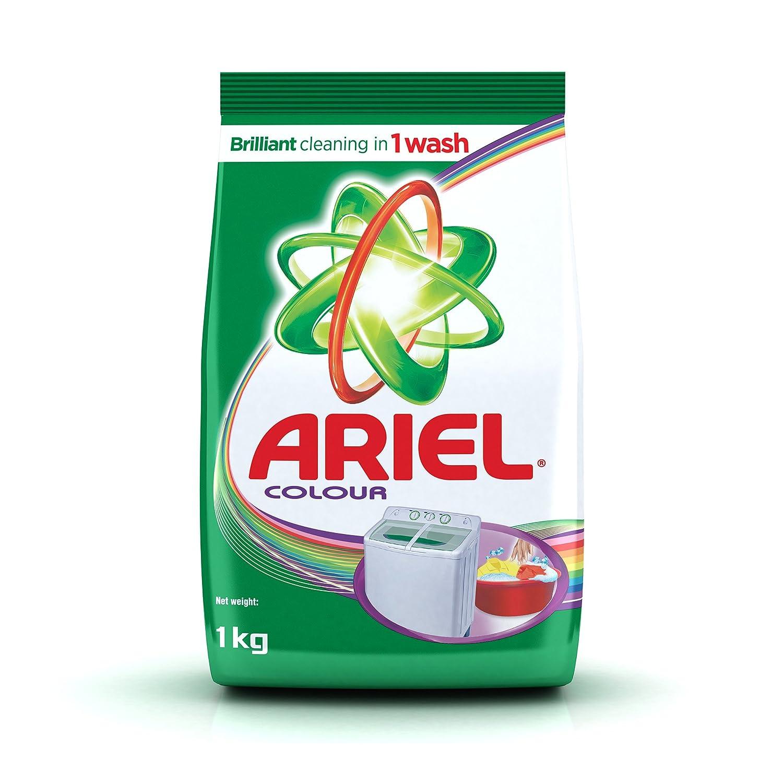 Buy Ariel Colour Washing Detergent Powder 1 kg Pack Online at Low