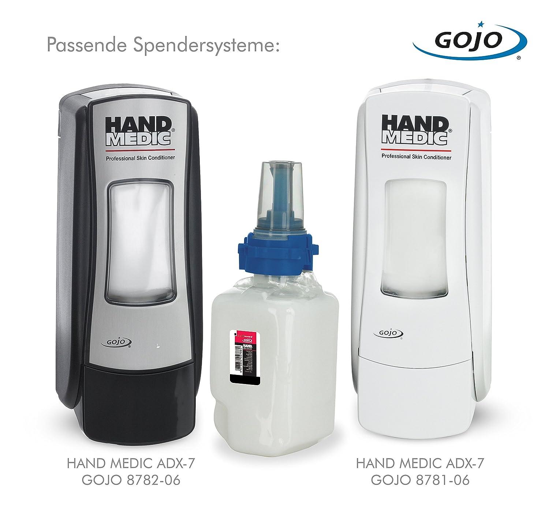 Gojo 8745 - 04 mano Medic Cuidado Piel profesional llenado para dispensador ADX de 7, 1er Pack (1 x 685 ml): Amazon.es: Industria, empresas y ciencia