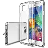 [Free Screen Protector] Galaxy Alpha Case - Ringke FUSION Case [Dust Cap&Drop Protection][CLEAR] Shock Absorption Bumper Premium Hard Case for Samsung Galaxy Alpha