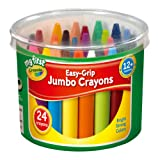 My First Crayola 24 Jumbo Crayons