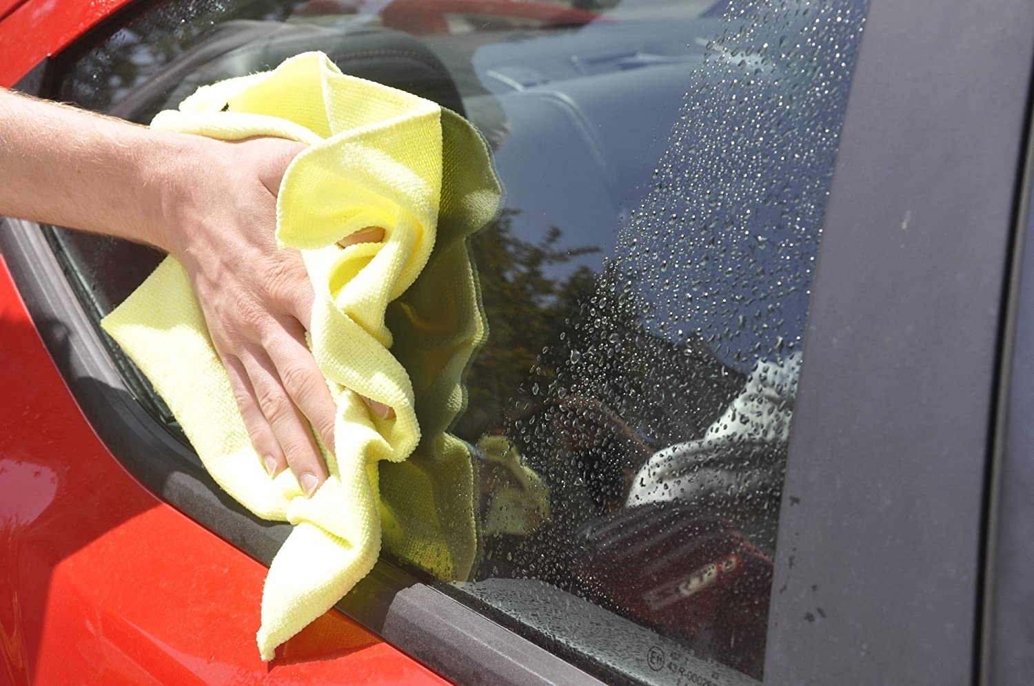Detailers Preference Eurow Microfiber Cleaning Cloth Home Bath and Car Towels 3 Colors 15 Pack