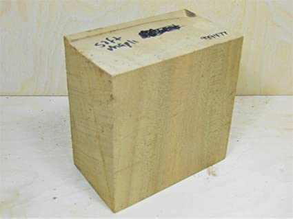 Spalted basswood carving blanks craft wood blocks