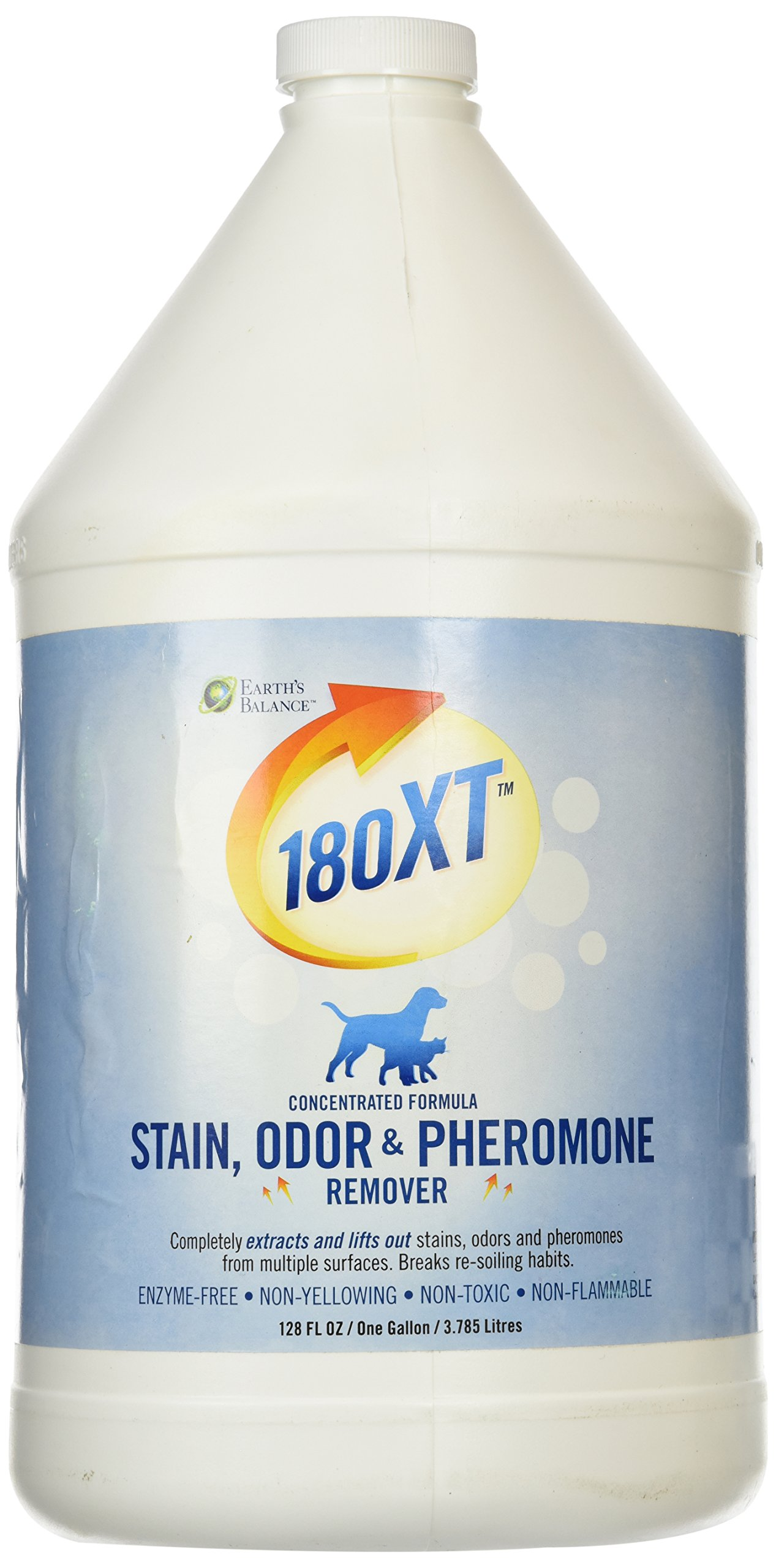 Earth's Balance SMR30704 Earth's Balance Small Animal 180 XT Stain Odor and Pheromone Remover, 1-Gallon