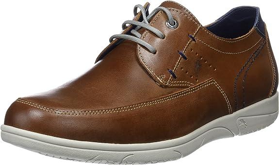TALLA 42 EU. Fluchos Sumatra, Zapatos de Cordones Derby para Hombre
