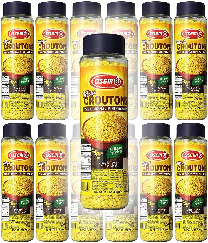 Osem Mini Mandel Croutons (12-Pack)