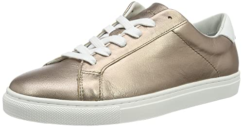 83691b39cf747 Tommy Hilfiger Women s T1285ina 10a2 Trainers Silver Grey  Amazon.co ...