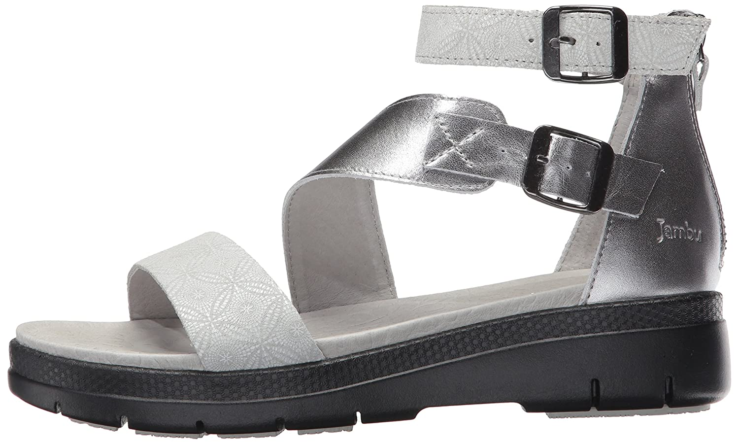 Jambu Women's Cape May Wedge Sandal B01IDQMYR4 6.5 B(M) US|Ice Print