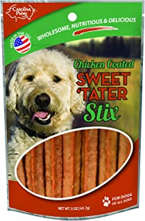 product image for Carolina Prime Pet 45316 Chicken Coated Sweet Tater Stix Treat For Dogs ( 1 Pouch), One Size